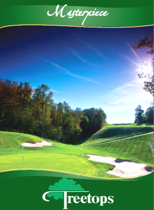 Golf Course Photo, Treetops Resort, Masterpiece Course, Gaylord, 49735