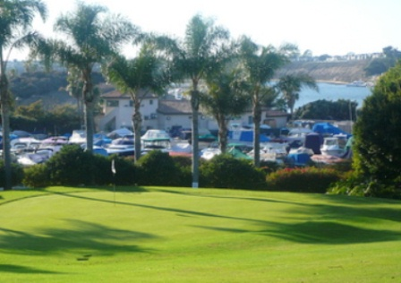 Golf Course Photo, Hyatt Newport Back Bay Golf Course, Newport Beach, 92660