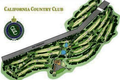 Golf Course Photo, California Country Club, Whittier, 90601