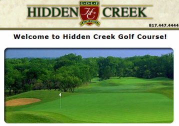 Golf Course Photo, Hidden Creek Golf Club, Burleson, 76028