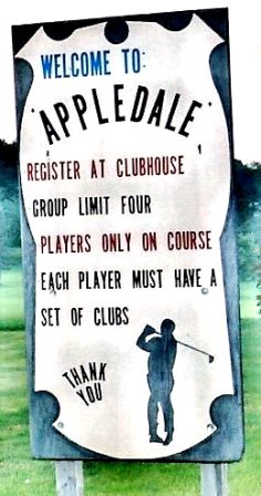 Appledale Public Golfing, CLOSED 2012,Ebensburg, Pennsylvania,  - Golf Course Photo