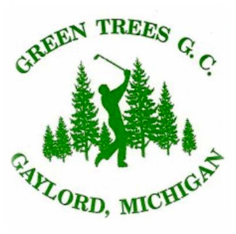 Golf Course Photo, Green Trees Golf, Gaylord, 49735