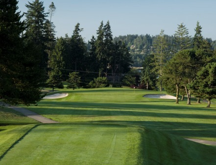 Wing Point Golf & Country Club, Bainbridge Island, Washington, 98110 - Golf Course Photo