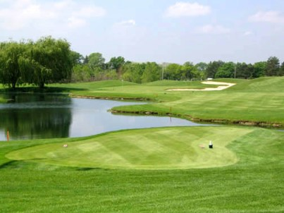 Golf Course Photo, Cantigny Golf Course - Lakeside-Hillside, Wheaton, 60187