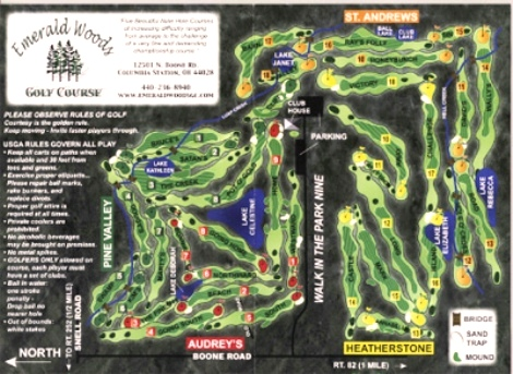 Emerald Woods Golf Courses, Columbia Station, Ohio, 44028 - Golf Course Photo