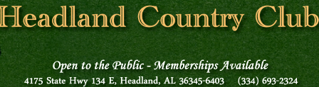 Headland Country Club, Headland, Alabama, 36345 - Golf Course Photo