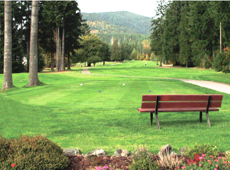 Golf Course Photo, Lake Cushman Golf Course, Hoodsport, 98548