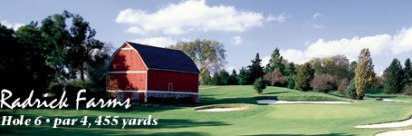 Radrick Farms Golf Club, Ann Arbor, Michigan, 48105 - Golf Course Photo