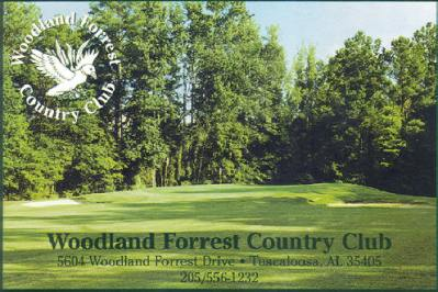 Golf Course Photo, Tall Pines Golf Club at Woodland Forrest, Tuscaloosa, 35405