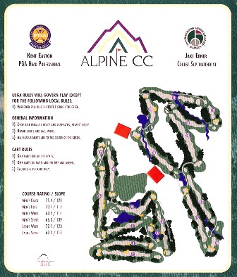 Alpine Country Club,Highland, Utah,  - Golf Course Photo