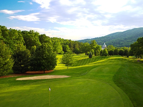 Homestead Resort, The Old Course,Hot Springs, Virginia,  - Golf Course Photo