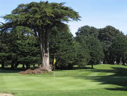 Golf Course Photo, Gleneagles Golf Club, San Francisco, 94134