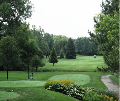 Idlewild Country Club,Flossmoor, Illinois,  - Golf Course Photo