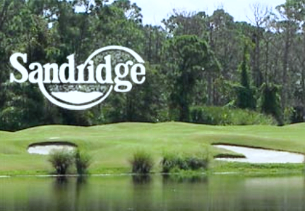 Sandridge Golf Club, Lakes Course ,Vero Beach, Florida,  - Golf Course Photo