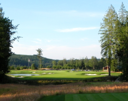 Salish Cliffs Golf Club,Shelton, Washington,  - Golf Course Photo