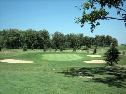 Golf Course Photo, Lake Forest Golf Club, Ann Arbor, 48103