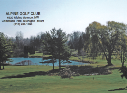 Golf Course Photo, Alpine Golf Club, Comstock Park, 49321