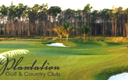 The Plantation Golf and Country Club,Fort Myers, Florida,  - Golf Course Photo