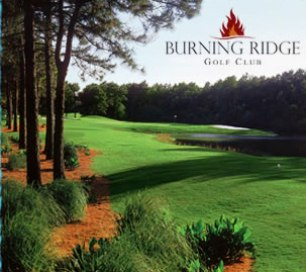 Golf Course Photo, Burning Ridge Golf Course, West Course, CLOSED 2005, Conway, 29577