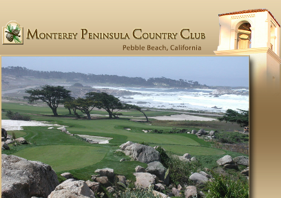 Monterey Peninsula Country Club, Dunes Golf Course, Pebble Beach, California, 93953 - Golf Course Photo