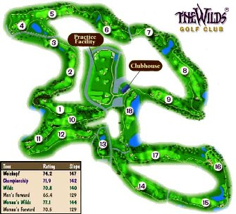 Wilds Golf Club, The,Prior Lake, Minnesota,  - Golf Course Photo
