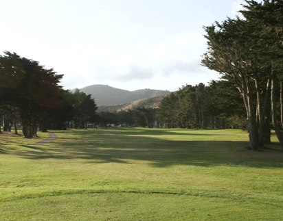 Sharp Park Golf Course,Pacifica, California,  - Golf Course Photo