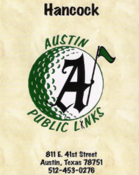 Hancock Park Golf Course, Austin, Texas, 78751 - Golf Course Photo