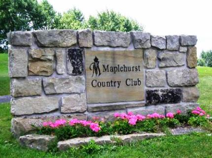 Maplehurst Country Club,Frostburg, Maryland,  - Golf Course Photo