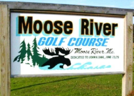 Moose River Golf Course,Moose River, Maine,  - Golf Course Photo