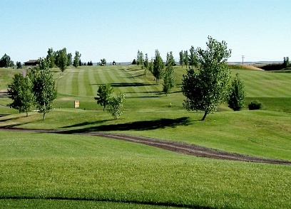 Pryor Creek Golf Club - Johnny Walker,Huntley, Montana,  - Golf Course Photo