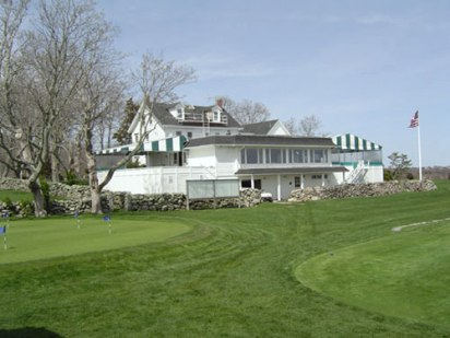 Acoaxet Club,Westport Harbor, Massachusetts,  - Golf Course Photo
