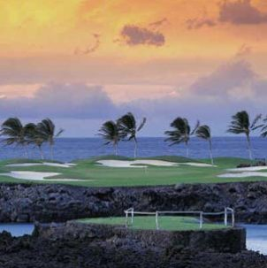 Golf Course Photo, Mauna Lani Resort, South Course, Kamuela, 96743