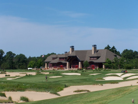 Forest Dunes Golf Club, Weiskopf Course,Roscommon, Michigan,  - Golf Course Photo