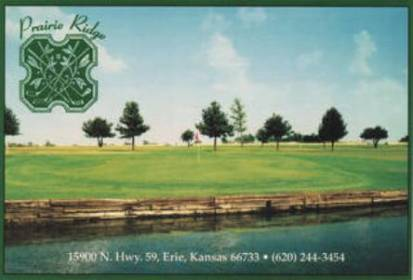 Prairie Ridge Golf Club,Erie, Kansas,  - Golf Course Photo