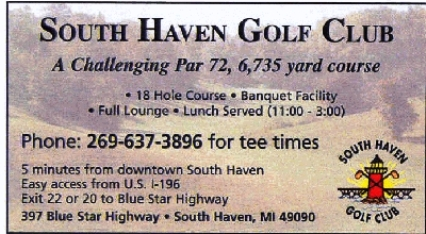 Golf Course Photo, South Haven Country Club, CLOSED 2015, South Haven, 49090