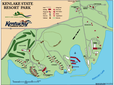 Kenlake State Resort Park Golf Course, CLOSED 2012