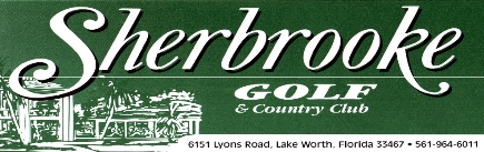 Sherbrooke Golf & Country Club,Lake Worth, Florida,  - Golf Course Photo