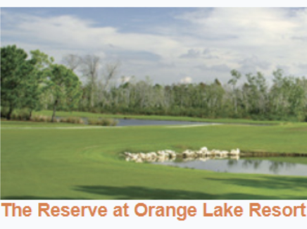Orange Lake Golf Resort, The Reserve Golf Course,Kissimmee, Florida,  - Golf Course Photo