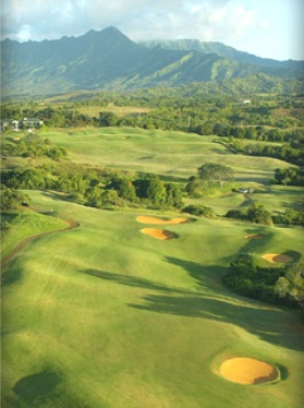 Prince Golf Course at Princeville at Hanalei,Kauai, Hawaii,  - Golf Course Photo