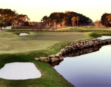 Ponte Vedra Inn & Club -Lagoon,Ponte Vedra Beach, Florida,  - Golf Course Photo