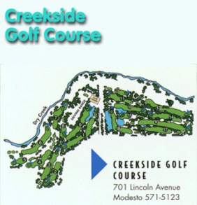 Modesto Creekside Golf Course,Modesto, California,  - Golf Course Photo