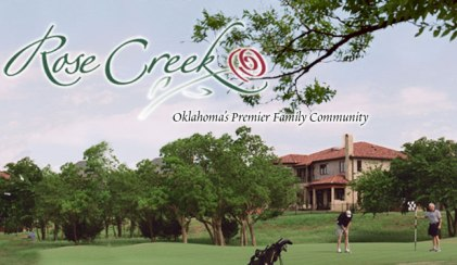 Golf Course Photo, Rose Creek Golf Club, Edmond, 73012