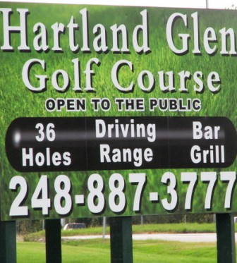 Golf Course Photo, Hartland Glenn Golf Course, North Course, Hartland, 48353