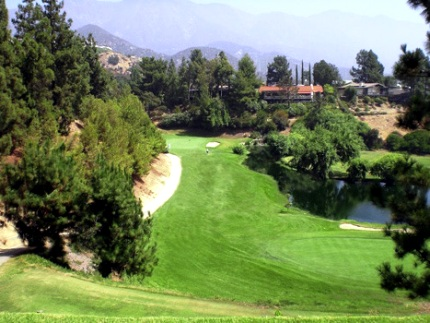 La Canada Flintridge Country Club,La Canada, California,  - Golf Course Photo