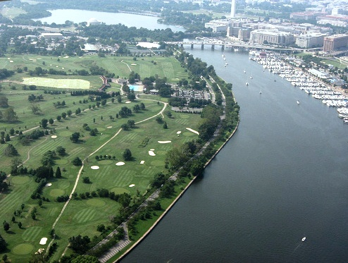East Potomac Public Golf Course, Blue, Washington, District of Columbia, 20024 - Golf Course Photo