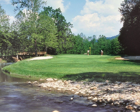 Golf Course Photo, Homestead Resort, Lower Cascades Golf Course, Hot Springs, 24445