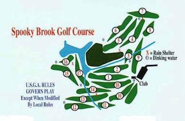 Spooky Brook Golf Course,Somerset, New Jersey,  - Golf Course Photo