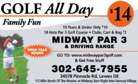 Midway Par 3 Golf Course,Lewes, Delaware,  - Golf Course Photo