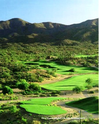 Desert Mountain Golf Club, Geronimo Golf Course,Scottsdale, Arizona,  - Golf Course Photo