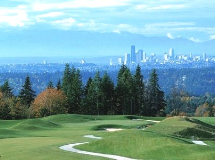 Golf Club At Newcastle -Coal Creek,Newcastle, Washington,  - Golf Course Photo